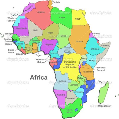 maps 4 africa africa country map