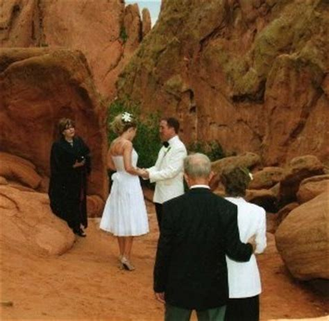 Garden Of The Gods Trading Post Wedding Pin By Lyssabeth S Wedding Officiants On Elopement