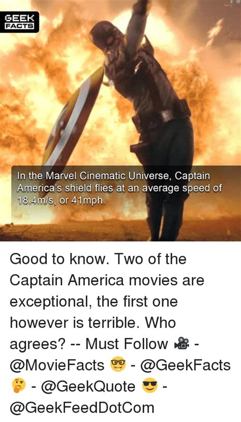 marvel film facts geek facts in the marvel cinematic universe captain