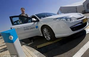 Electric Vehicle As Company Car Better Place Electric Car Company That Envisioned Network