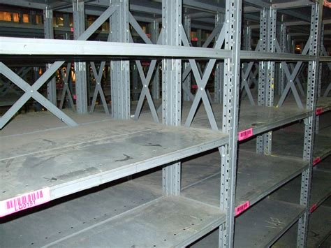 Steel Shelving Systems New Used Industrial Steel Shelving Republic Clip Style