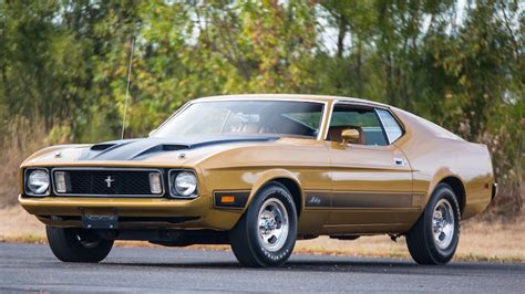 1973 Ford Mustang Sportsroof Fastback Mach 1 Burnt Orange For Sale Used Cars For Sale 1973 Ford Mustang Mach 1 Fastback F2 9 Kissimmee 2018