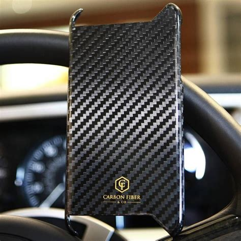 carbon fiber iphone  case  carbon fiber  gadget flow