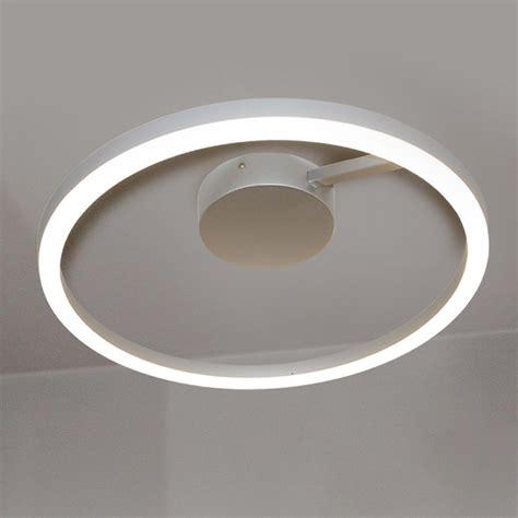 circular led light vonn lighting zuben collection 20 in silver integrated