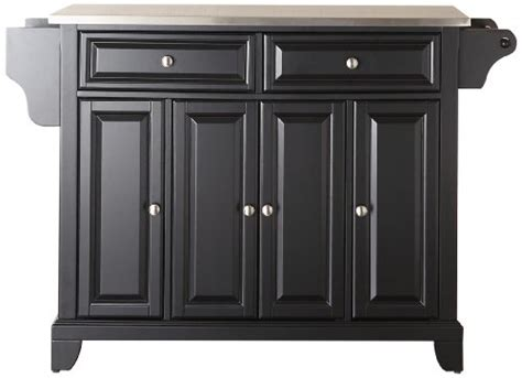 where can i buy a kitchen island where can i find crosley furniture newport stainless steel top kitchen island black