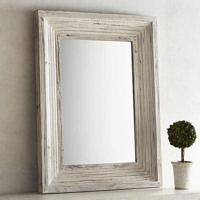 bathroom mirror 30 x 40 bailey farmhouse 30x40 wood framed mirror pier 1 imports