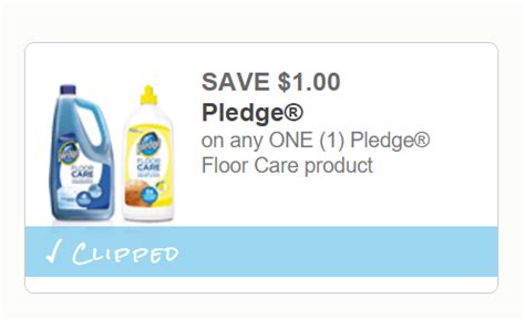 Pledge Floor Care Coupon by Get To Printin 1 00 Any One Pledge Floor Care
