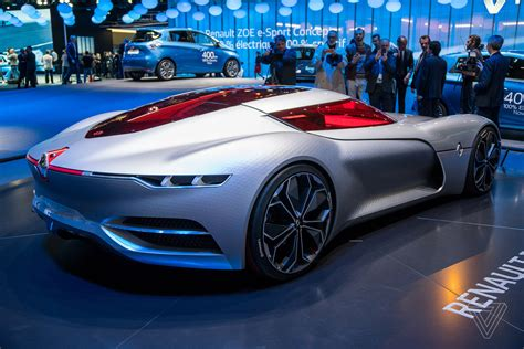 renault concept cars the renault trezor is the retro future concept car of my