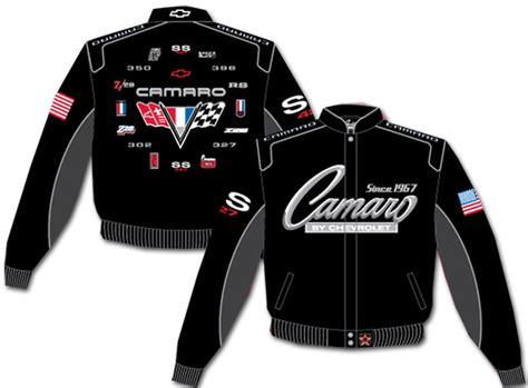 camaro racing jacket official chevrolet licensed merchandise apparel