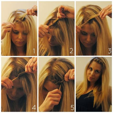 how to grow out your bangs hair world magazine how to style your bangs when growing them out twist braid