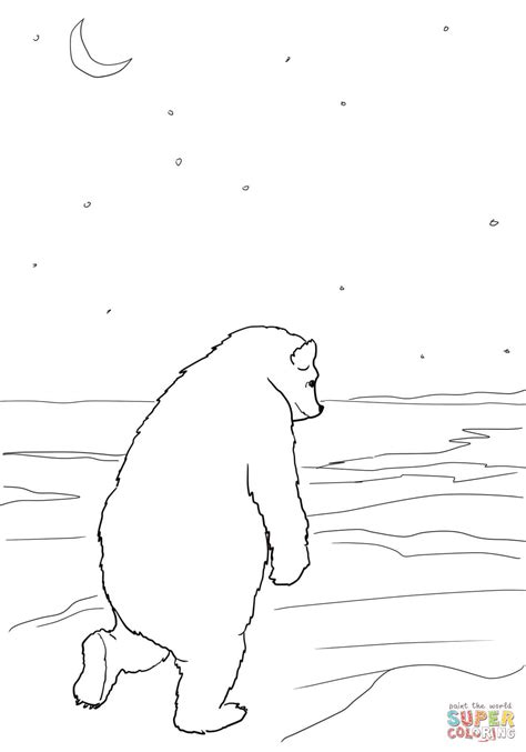 bear hunt coloring page bear returns to his cave coloring page free printable