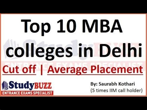 Top Mba Clg In Delhi by Top 10 Mba Colleges In Delhi Ncr With Cut Offs Average