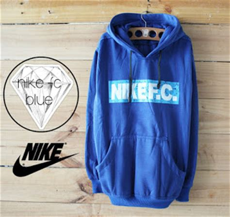 Jaket Distro Sweater Hoodie Marshmello Simple Keren nike fc blue rmtwo store