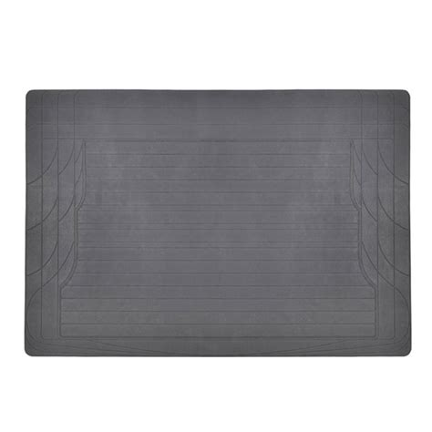 trunk cargo floor mat gray odorless utility rubber liners