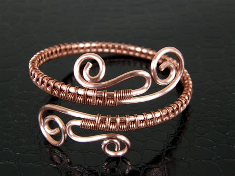 copper wire bracelet 020 handmade bracelet copper bangle