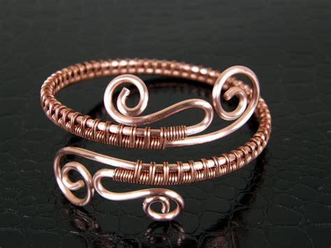 Handmade Copper Bracelets - copper wire bracelet 020 handmade bracelet copper bangle