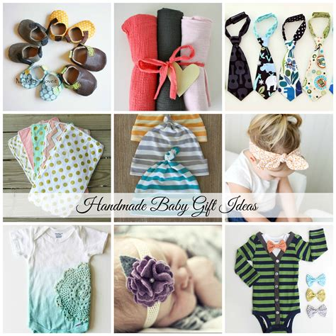 Ideas For Handmade Presents - handmade baby gift ideas