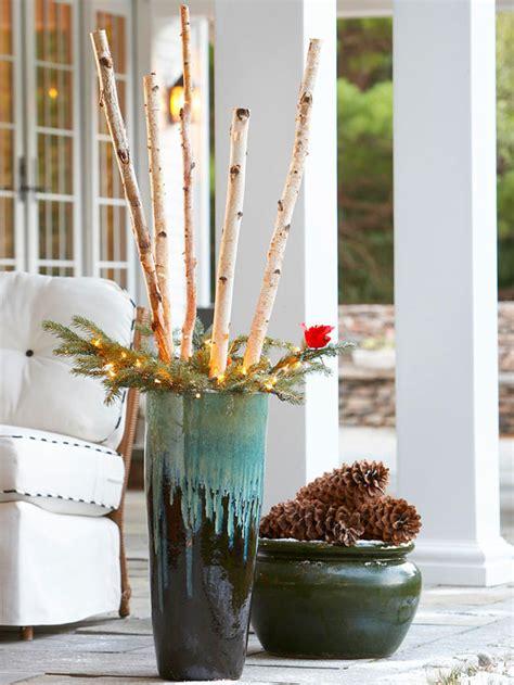 veranda verzierung kerzenstnder aus holz weihnachtsdeko aus holz