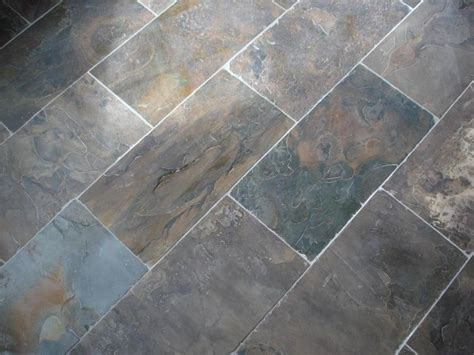 slate tile 12x24 foyer laundry room pinterest