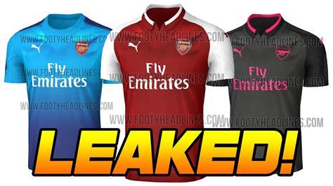 Jersey Arsenal Away 2017 2018 17 18 Fullset Grade Ori leaked arsenal kit 2017 18 gorgeous