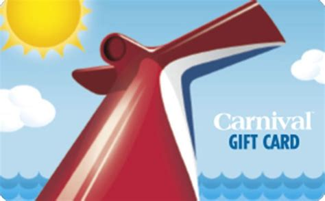 Carnival Gift Card - carnival cruise lines gift card