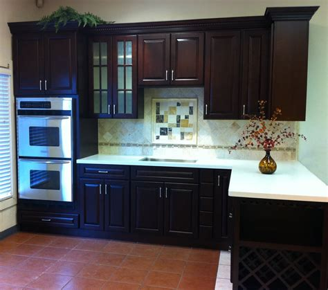 kz kitchen cabinet villa cherry cabinets with eggshell quartz yelp