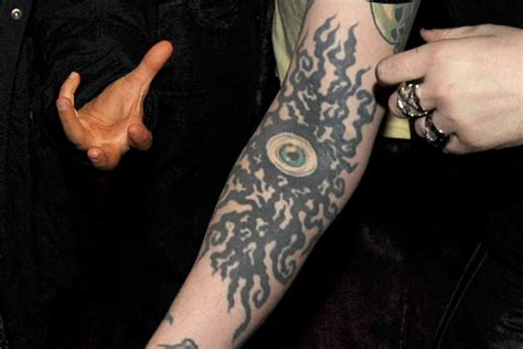 marilyn manson tattoo marilyn on