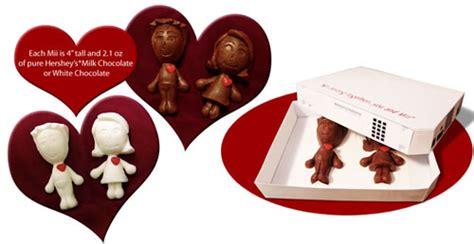Wii Belong Together Chocolate Miis For Valentines Day by Geekery Chocolate Miis Neatorama