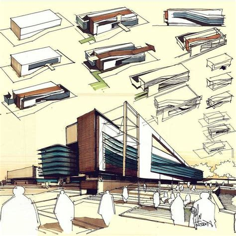architecture concept 1363 best 3d hand drawn architectural images on pinterest