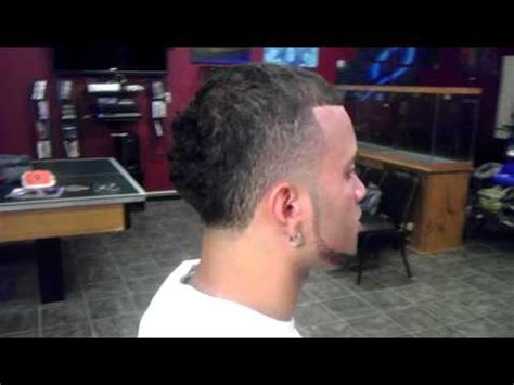 puerto rican ponytail for men rich cuts puerto rican superblend youtube