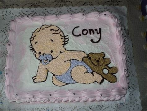 baby shower pasteles decorados con beb 233 s