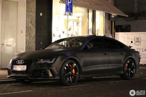 Audi Rs7 Gewicht by Audi Rs7 Sportback 22 January 2017 Autogespot