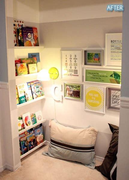 Closet Book Nook by Closet Book Nook For The Home