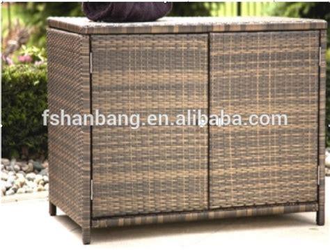 Outdoor Armoire Storage by Attractive Patio Garden All Weather Wicker Rattan Outdoor
