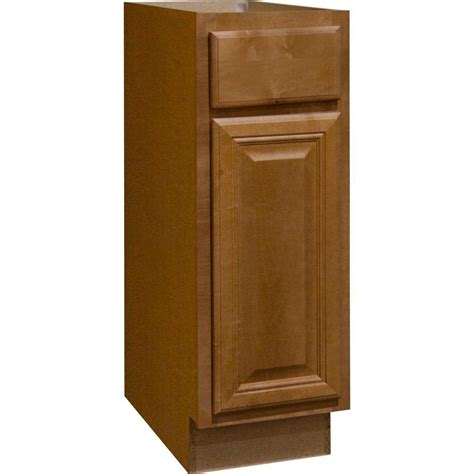 Cabinet Door Glides Hton Bay Cambria Assembled 12x34 5x24 In Base Kitchen Cabinet With Bearing Drawer