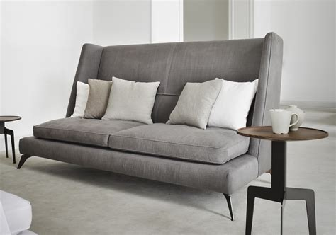 tall back sofa vibieffe class high back sofa contemporary furniture