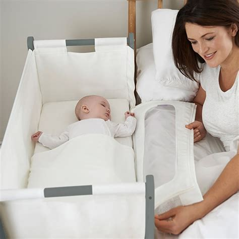bedside cribs for babies snuzpod2 bedside crib 3 in 1 dove grey the little