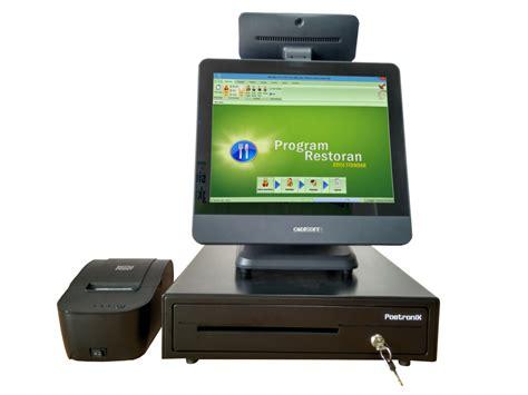 Paket Komputer Kasir Lengkap Aplikasi Unlimited jual paket komputer kasir restoran dan cafe kios barcode