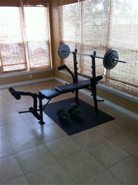 exertec bench exertec fitness bench espotted