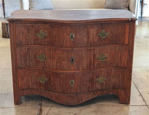 Curved Chest Of Drawers by A Curved Front Swedish Chest Of Drawers Early 19th Century At 1stdibs