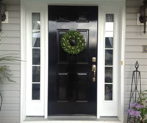 30 Black Interior And Exterior Doors Creating Brighter Painting A Front Door Tips