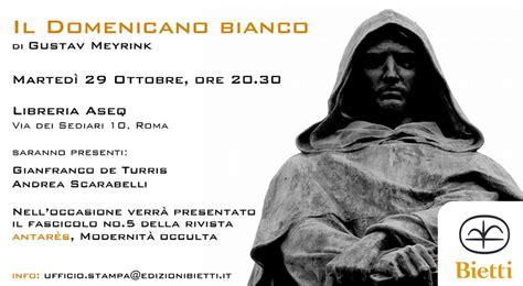 libreria aseq roma mappa evento presentazione libro di gustav meyrink il