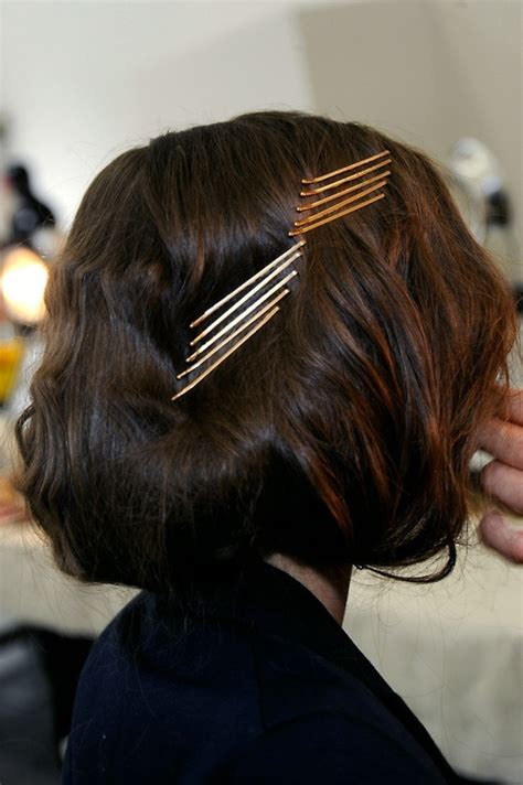 hairstyle ideas using bobby pins bobby pins in hair with faux bob style mane attraction