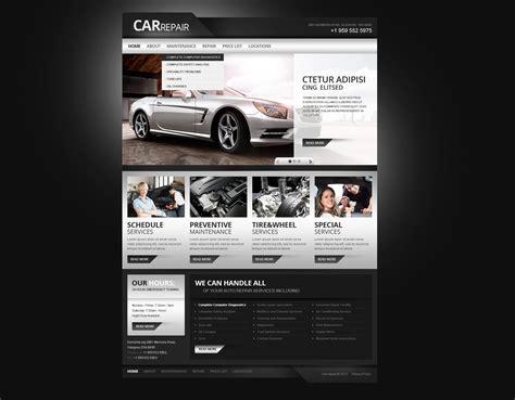 Car Repair Responsive Website Template 39110 Car Repair Responsive Website Template Free