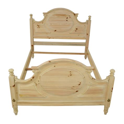 natural wood bed frame beds used beds for sale