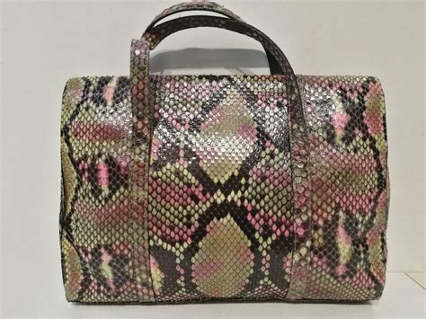 Tas Chanel Pouch 1161181 90s chanel python skin bag for sale at 1stdibs