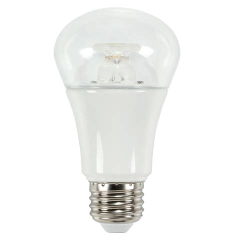 2700k led light bulbs westinghouse 40w equivalent soft white 2700k a19 led light bulb 0513700 the home depot