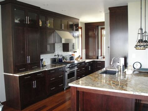 kitchen cabinets dark brown dark brown kitchen