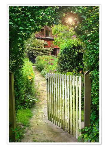 secret garden gate posters  prints posterloungecouk