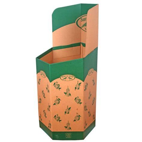 contenitori in cartone per alimenti espositori per negozi al dettaglio bidoni di esposizione